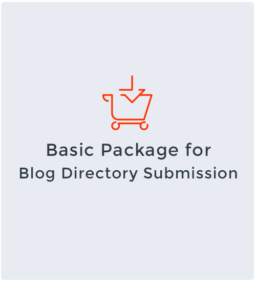 Basic Package for Blog Directory Submission