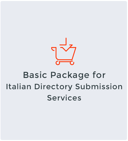 Basic Package for Italian Directory Submission Services