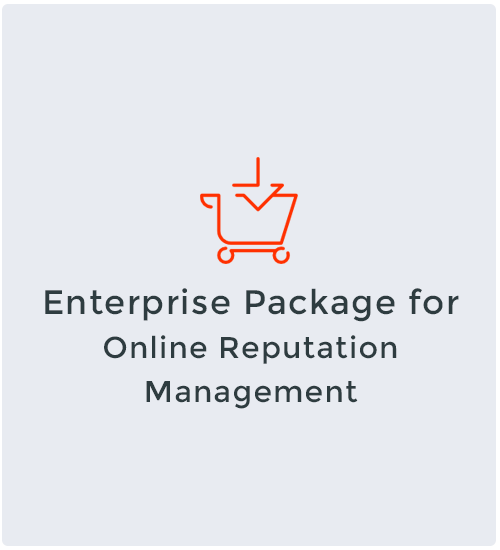 Enterprise Package for Online Reputation Management