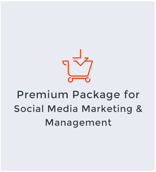 Premium Package for Social Media Marketing & Management