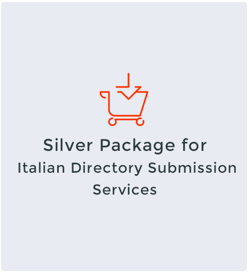 Silver Package for Italian Directory Submission Services