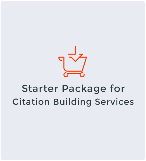 Starter Package for Citation Building Services