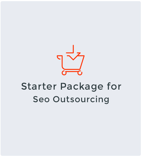 Starter Package for Seo Outsourcing