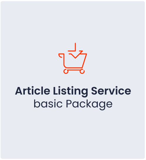 Article Listing Service Basic Package