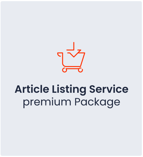 Article Listing Service Premium Package